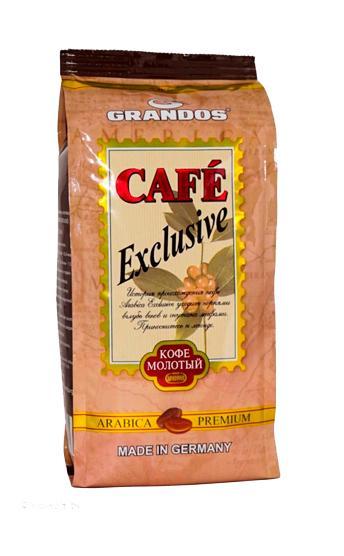 Кофе Grandos Exclusive молотый 250 гр