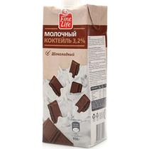 Молочный коктейль Fine Life шоколад 3,2% 950 мл
