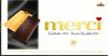 Шоколад тёмный Merci Горький 72% 4 шт. в индивидуальной упаковке