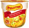 Пюре картофельное с мясным вкусом с сухариками, Роллтон, 40 гр., ПЭТ