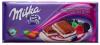 Шоколад Миндаль Лесные ягоды, Milka, 90 гр., флоу-пак