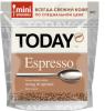 Кофе Today Espresso растворимый