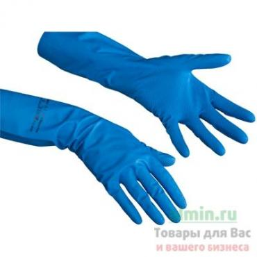 Перчатки Комфорт Нитрил XL хозяйственные голубые