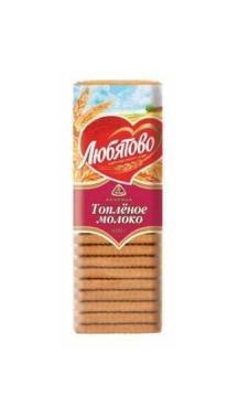Печенье Любятово топленое молоко 400г