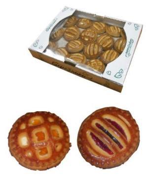 Печенье LeKras Барселона с абрикосом и творожым вкусом весовое