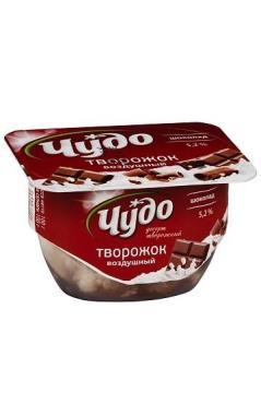 Десерт творожный Чудо воздушный шоколадом 5,2% 100г