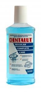 Бальзам-ополаскиватель для полости рта Vilsen Dentalut regular, 260 мл., Пластиковая бутылка