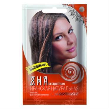 Хна бесцветная натуральная иранская высший сорт Fito-косметик Элитная, 25 гр., сашет