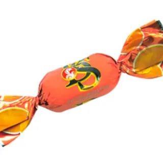 Карамель фруктово-ягодная Баян сулу Абрикос, 1 кг., флоу-пак