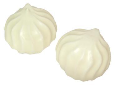 Зефир в белой глазури, Петропавловск Кондитер, KZ, 2 кг., картонный короб с прозрачным экраном
