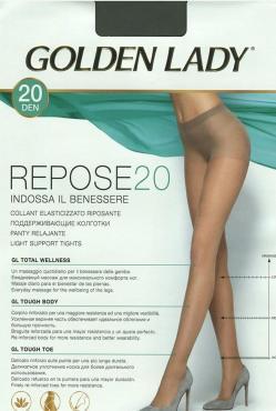 Колготки Golden Lady REPOSE nero, 40 den, размер 4