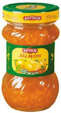 Джем Ратибор Лимон, 360 г.