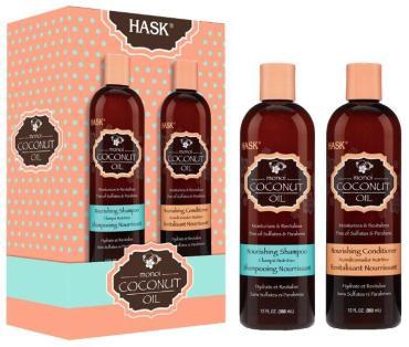 Набор Hask Coconut для питания волос с кокосовым маслом Шампунь + кондиционер с кокосовым маслом