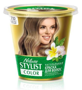 Краска для волос Fito Косметик Nature Stylist Color тон 7.0 светло-русый