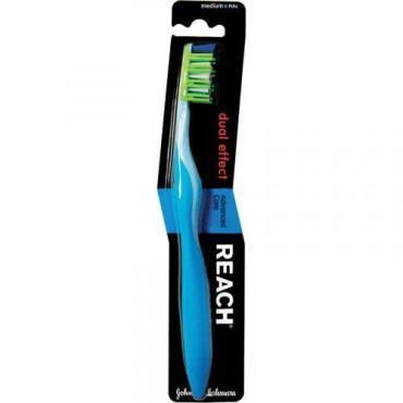 Зубная щетка Reach Dualeffect средняя