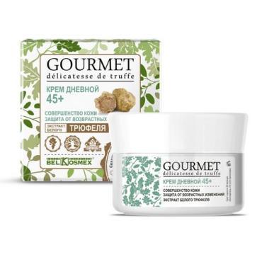 Крем Belkosmex Gourmet Дневной 45+ совершенство кожи экстракт белого трюфеля