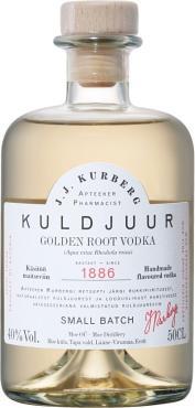 Водка J.J. Kurberg Golden Root, Эстония, 0,5 л., стекло