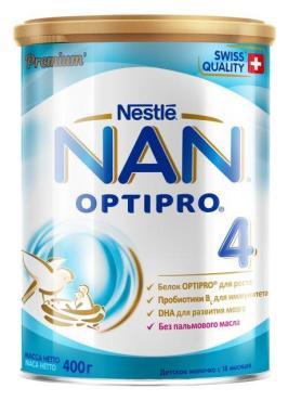 Смесь Nan 4 сухая молочная с 18 месяцев