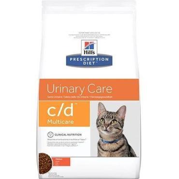 Корм сухой для кошек при лечении Hill's Prescription Diet Feline C/D, 5 кг., дой-пак