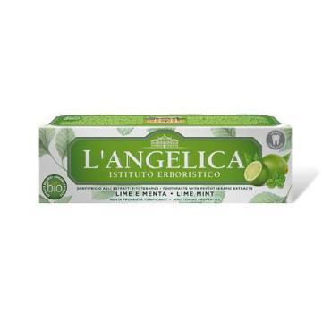 Зубная паста Langelica с мятой и лаймом
