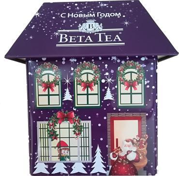 Чай Beta Tea Синий домик черный