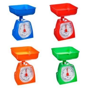 Весы кухонные механические с пластиковой чашей 2 л., до 5 кг., 4 цвета Гала центр