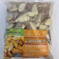 Картофель замороженный дольками Plantator, 2,5 кг., Пластиковый пакет