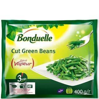 Фасоль резаная зеленая Bonduelle, 400 гр., флоу-пак