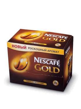 Кофе Nescafe Gold 30 пакетов