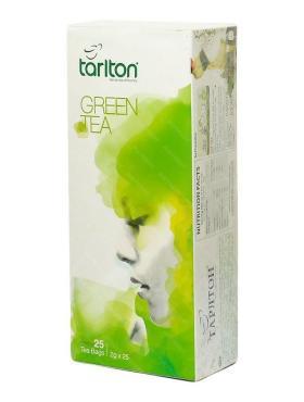Чай зеленый Tarlton 25 пакетов