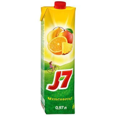 Нектар J7 Мультифрукт с мякотью