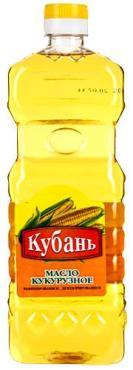Масло Кубань кукурузное
