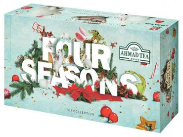 Чай ассорти 15 вкусов в пакетиках Ahmad Tea, 411 гр., картонная коробка