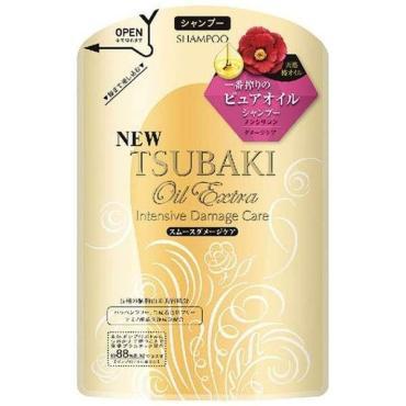 Шампунь SHISEIDO для восстановления поврежденных волос Tsubaki Oil Extra бессиликоновый насыщенный маслом камелии