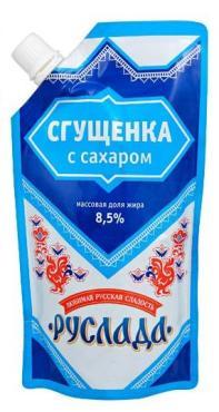 Молоко сгущенное Руслада с сахаром 8.5%