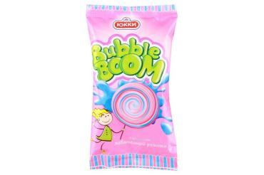 Мороженое Юкки Bubble Boom Двухслойное с ароматом жевательной резинки