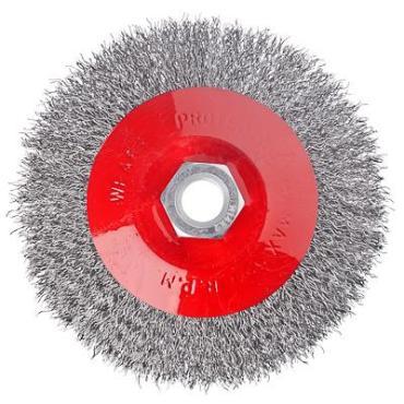 Щетка для УШМ ЕРМАК тарелка 115мм/М14