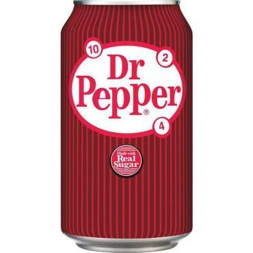 Газированный напиток Dr. Pepper Real Sugar