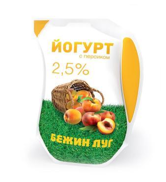 Йогурт Бежин луг 2,5% персик