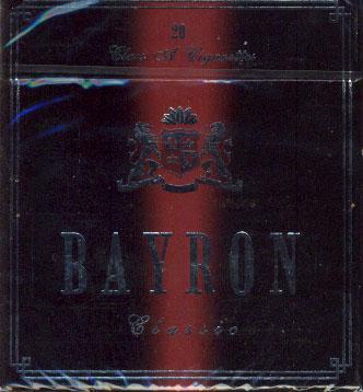 Сигареты Bayron с фильтром Classic