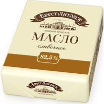 Масло сладко-сливочное Брест-Литовск Несоленое 82,5%