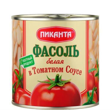 Фасоль Пиканта красная в томатном соусе