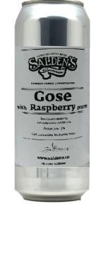 Пиво Saldens Gose with Rasberry 5,0%