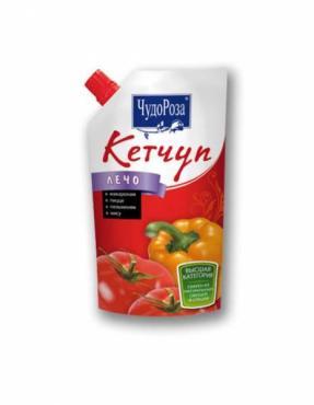 Кетчуп Чудо Роза томатный лечо