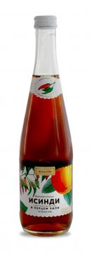 Газированный напиток исинди Аквадар, 500 мл., стекло
