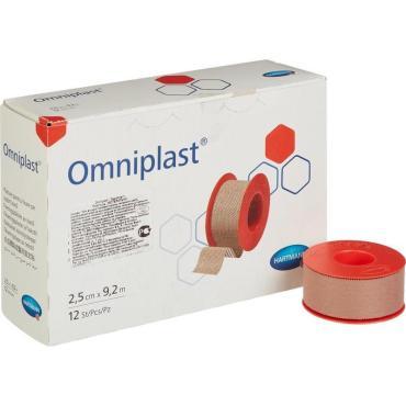 Пластырь фиксирующий Omniplast 9,2м тканная