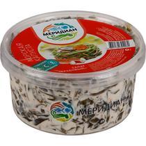 Салат Меридиан с морской капустой и крабовыми палочками