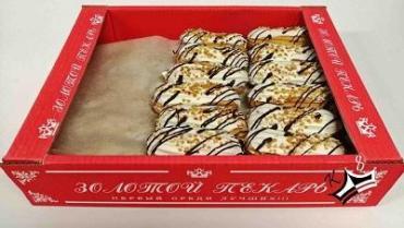 Пирожные Золотой пекарь КФ Эклер с арахисом