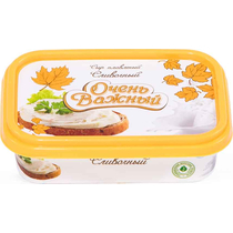 Сыр Очень Важный плавленный сливочный порционный 200 г