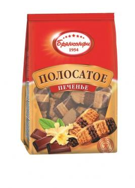 Печенье Брянконфи Полосатое